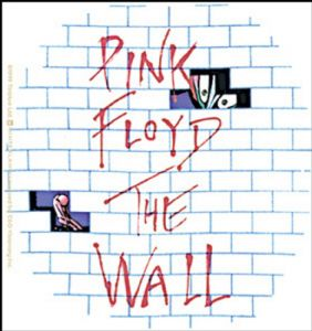 Pink Floyd The Wall vinyl sticker 120mm x 100mm  (cv)